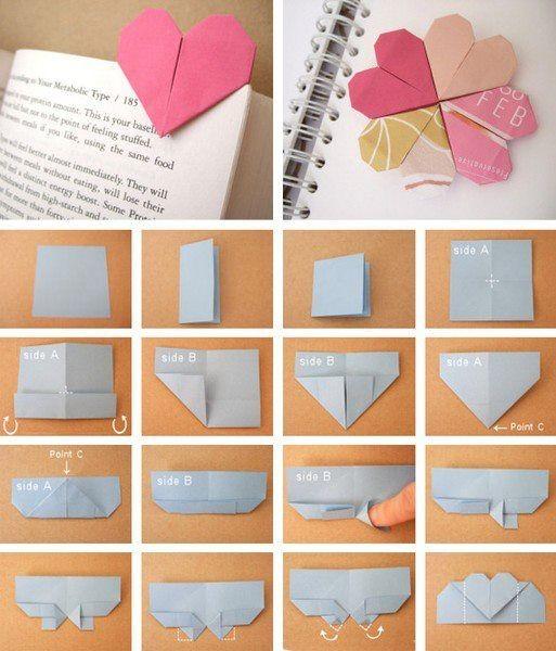 Закладки-оригами 1