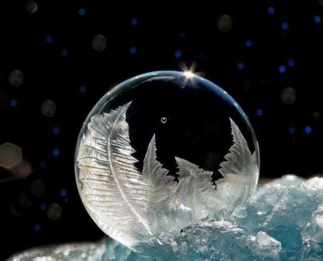 Замерзшие мыльные пузыри 2