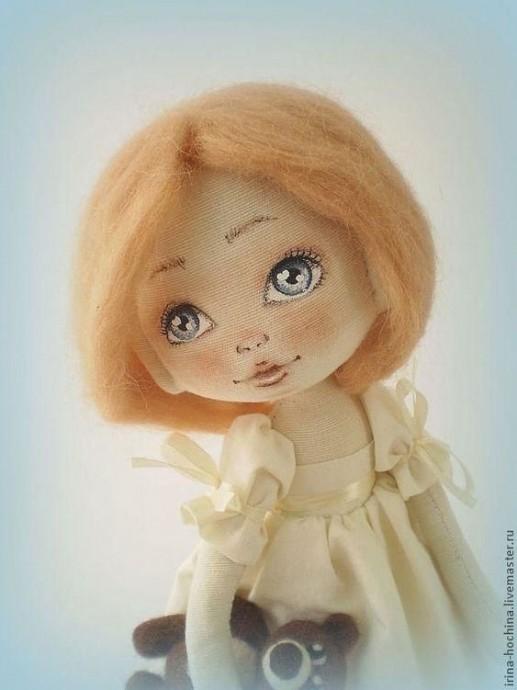 Разбираем с детьми шаги рисования лиц куколкам