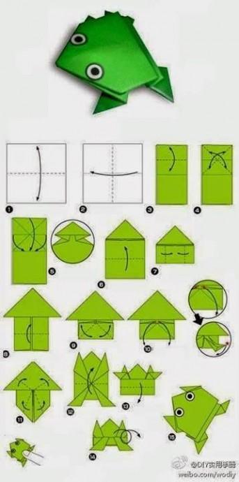Искусство оригами с детьми 0