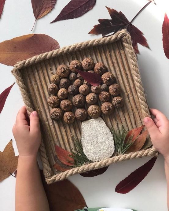 Осеннее творчество для детей