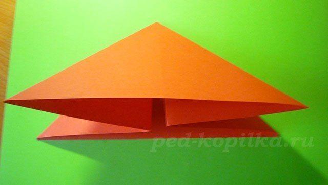"""Оригами """"Божья коровка"""" 4"""