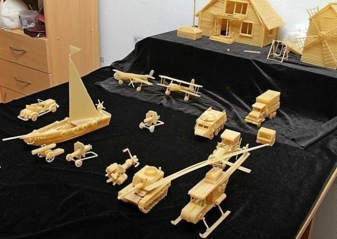 Скульптуры из макарон: идеи для творчества с детьми