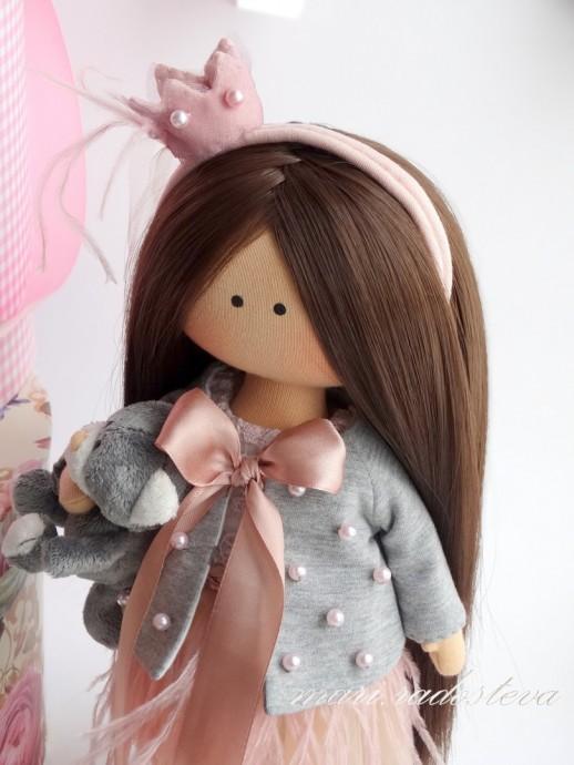 Жакет для куклы: мастер-класс