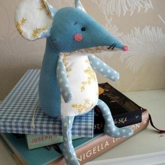 Шьем милых мышек