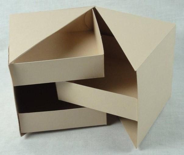 Интересная коробочка с ящиками 7