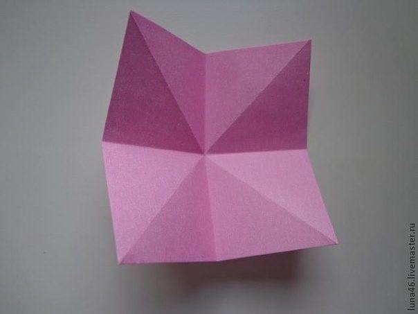 Как сделать бантик из бумаги 1