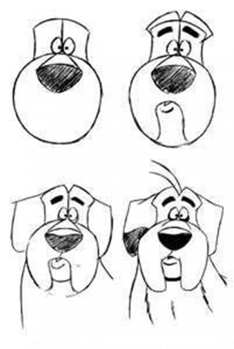 Учим детей рисовать животных