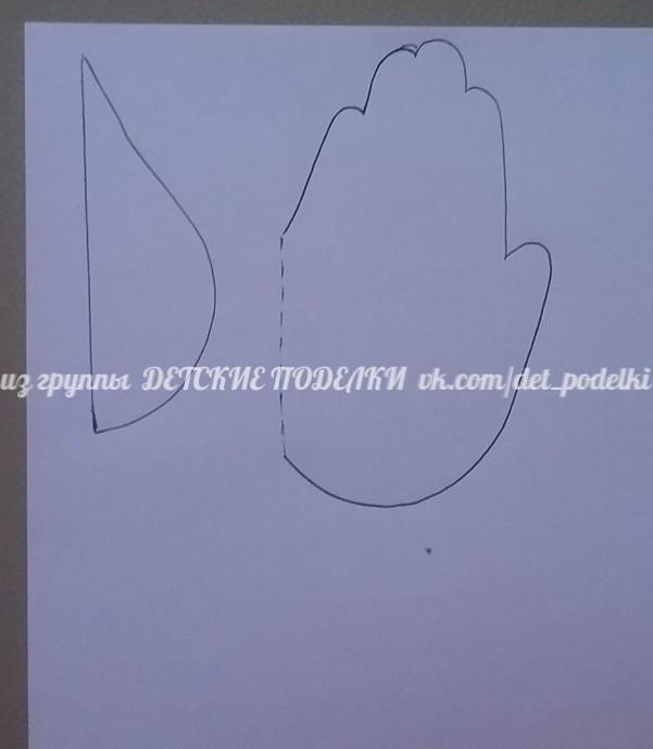 """Бумажная поделка на тему экологии """"Берегите воду"""""""