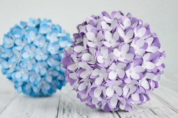 Декоративный цветочный шаp