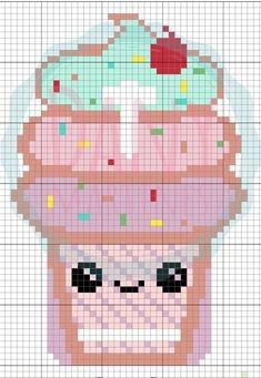 Вышивка с детьми: сладкие десерты