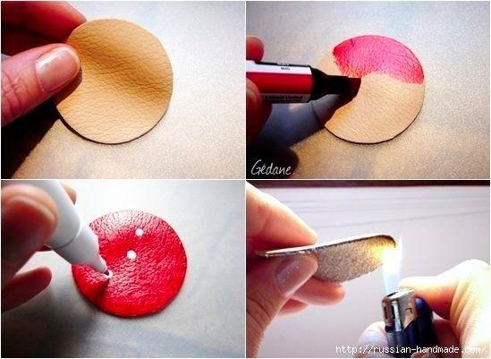 Как сделать мухомор детскими руками