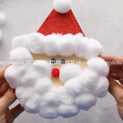 Открытка-Санта
