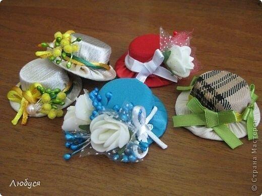 Шляпки для кукол