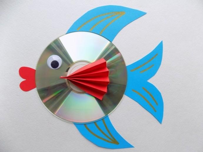 Поделки из CD-дисков