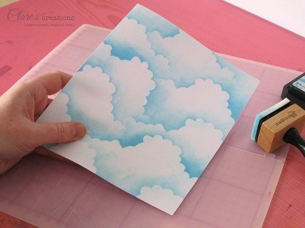 Фон из облаков