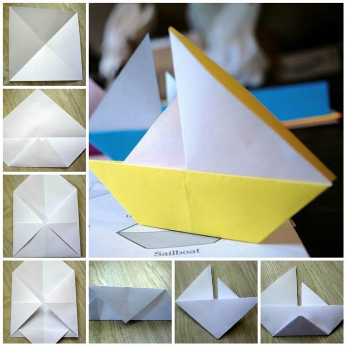 Кораблик-оригами 0