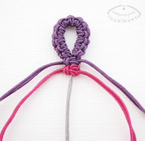 Плетём браслет с детьми