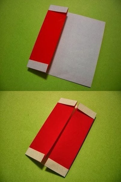 Гномик в технике оригами