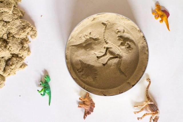Как сделать окаменелости динозавров в домашних условиях
