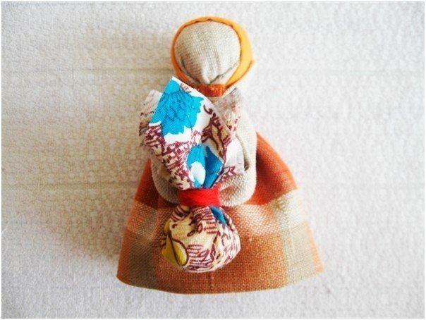 Народная куколка Подорожница