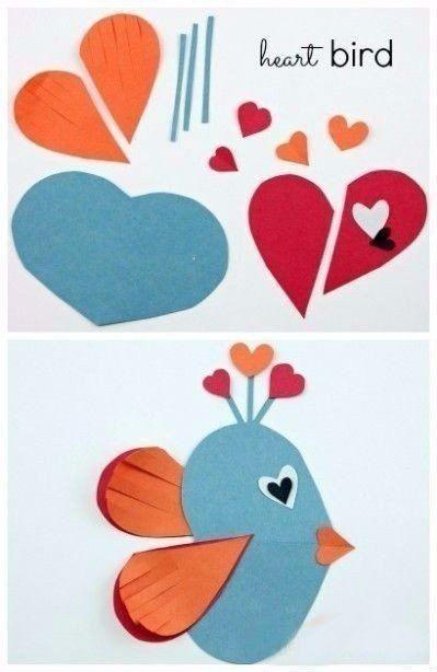 Аппликации из сердечек: творчество с детьми