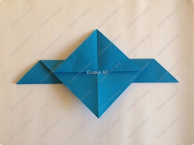 Чайка оригами