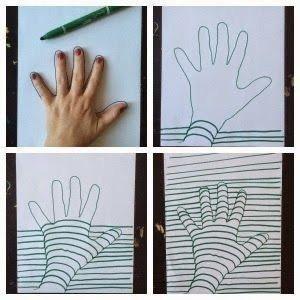 Рисунки с оптической иллюзией