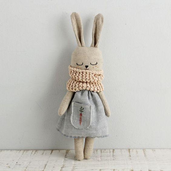 Выкройка замечательных кроликов
