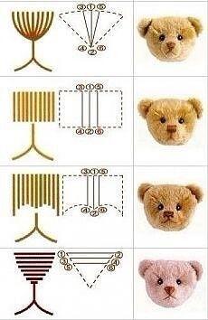 Как создать носик для игрушек