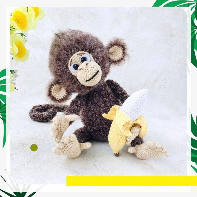Мастер-класс по вязанию бананов с детьми