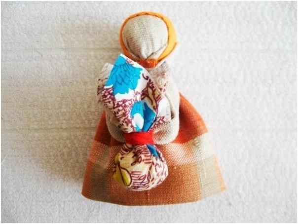 "Народная кукла-оберег в дорогу ""Подорожница"""