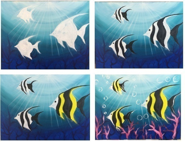 Рисуем рыбок