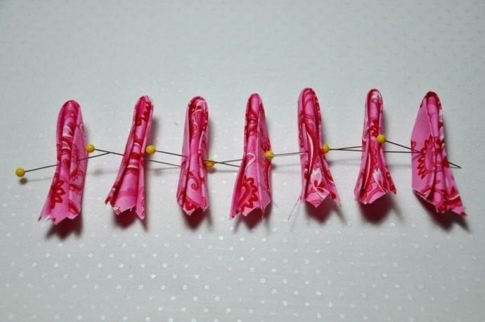 Цветок-канзаши