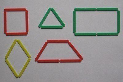 Композиции из счётных палочек