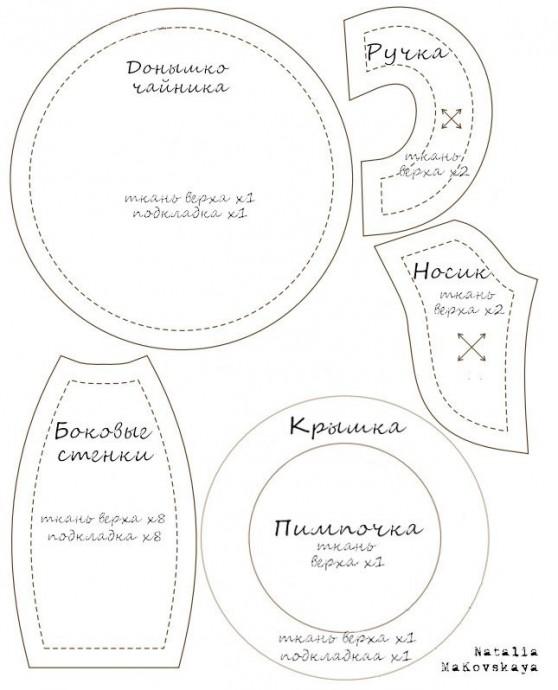 Посуда из ткани