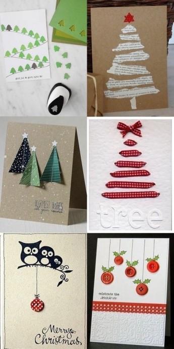 Идеи для новогодних открыток 2