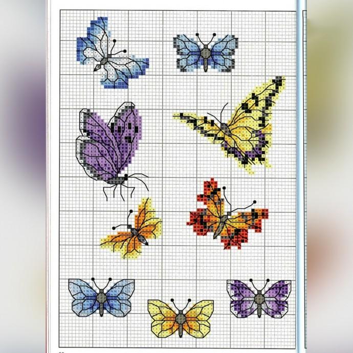 Вышиваем бабочек 2