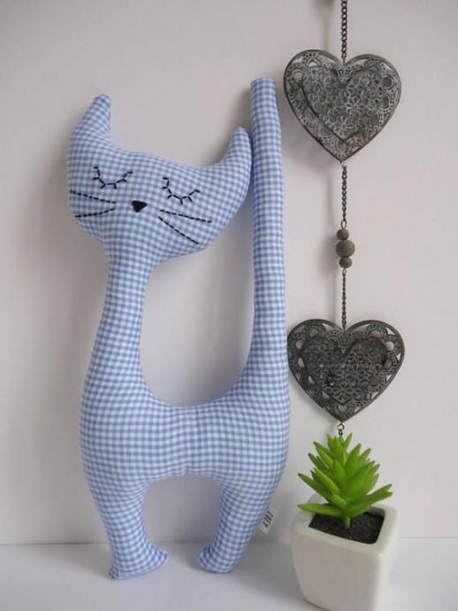 Простые и очаровательные текстильные игрушки 1