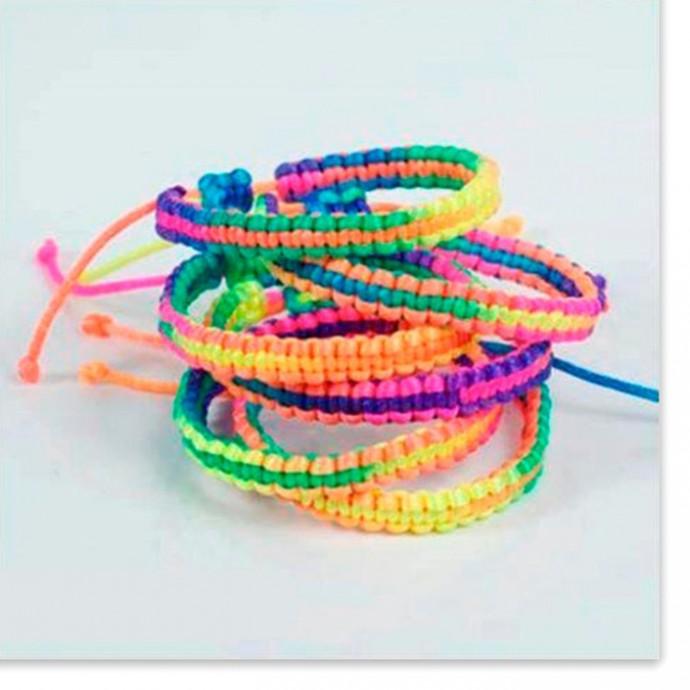 Яркие браслеты для деток