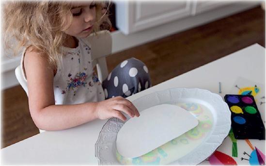 Рисование на молоке
