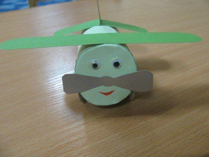 Самолетики из цилиндров 7