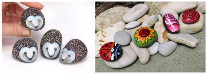 Роспись камней с детьми
