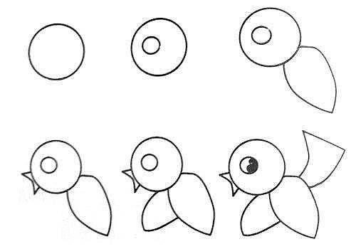 10 примеров, как нарисовать зверей поэтапно 7