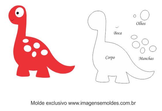 Динозавры из фетра 7