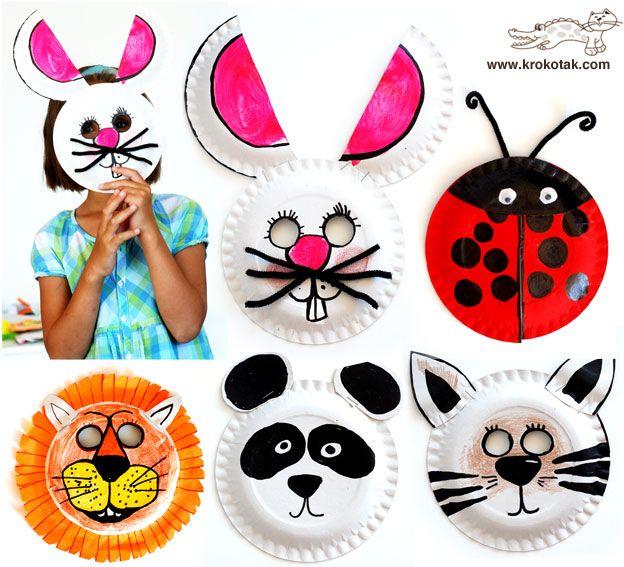 Идеи детских поделок из одноразовых тарелок 1