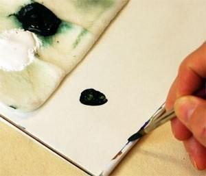 Рисуем сложную ёлочку с детьми старшего возраста