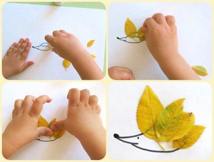 Какими видами творчества можно заняться с ребенком осенью
