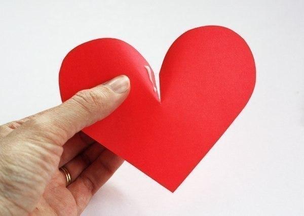 Объемные сердечки