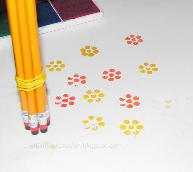 Альтернатива кисточкам при рисовании с детьми